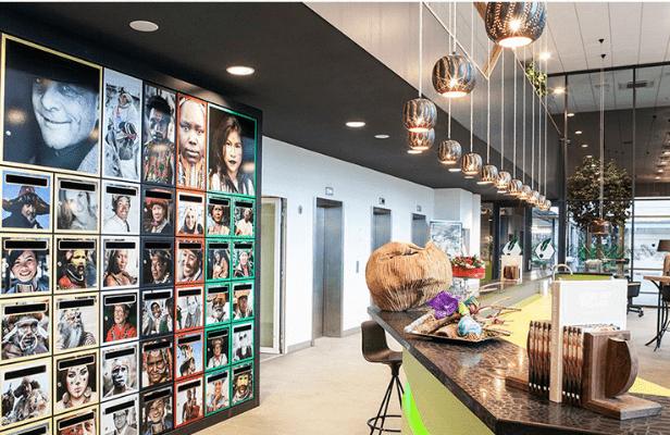 Vuokrattava toimistohotelli hollanti