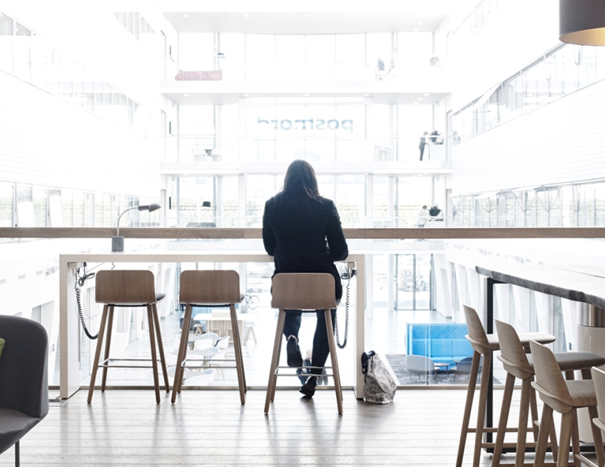 Office between two stools
