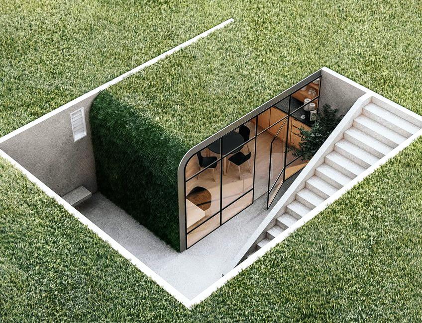 Underground office