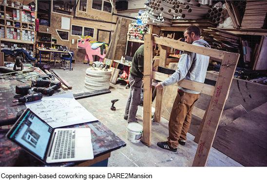 Coworkingplats Köpenhamn