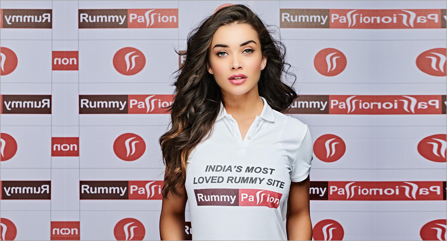 Amy Jackson Rummy Passion