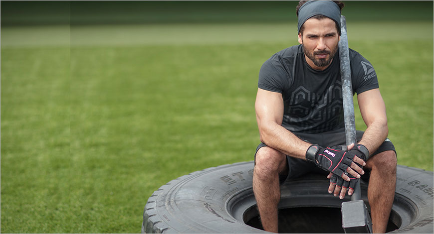 cf163b36c64 Reebok India has launched its latest campaign featuring brand ambassador  Shahid Kapoor. The campaign represents Reebok s ethos that fitness has the  power to ...