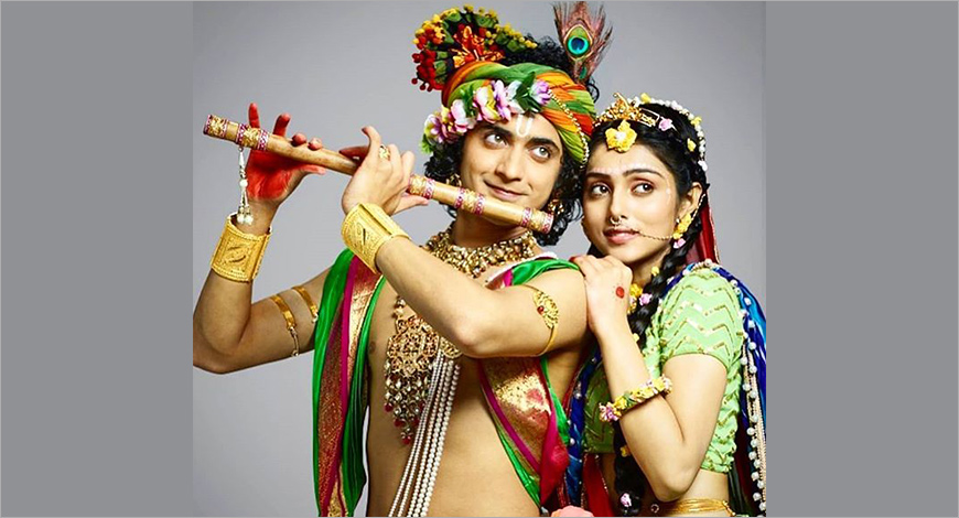 vijay tv unveils new serial radha krishna exchange4media