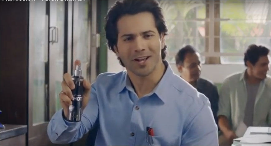 LAYER'R SHOT's new ad with Varun Dhawan tells people to stop being