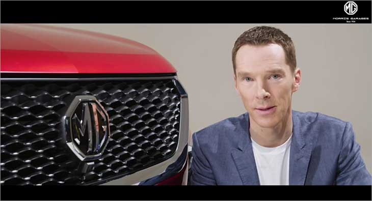 Morris Garages India Benedict Cumberbatch