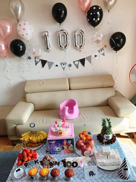 📣  Bé con tròn 100 ngày tuổi Mấy dì vào ủn Mông cho con mau lớn ham ăn giống mấy bạn... - Photos byBình Nhi