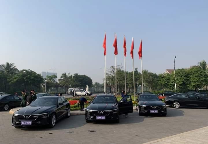 💬  VINGROUP tài trợ 400 xe Vinfast phục vụ Năm Chủ tịch ASEAN 2020. Hình ảnh Vinfast sẽ sáng rực báo chí... - Photos byTrọng Phùng Thế