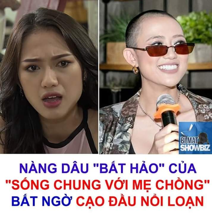 💬   Nữ diễn viên Trang Cherry bất ngờ xuất hiện với diện mạo cạo trọc đầu. Tâm điểm sự chú ý... - Photos byLâm Ngọc Yến