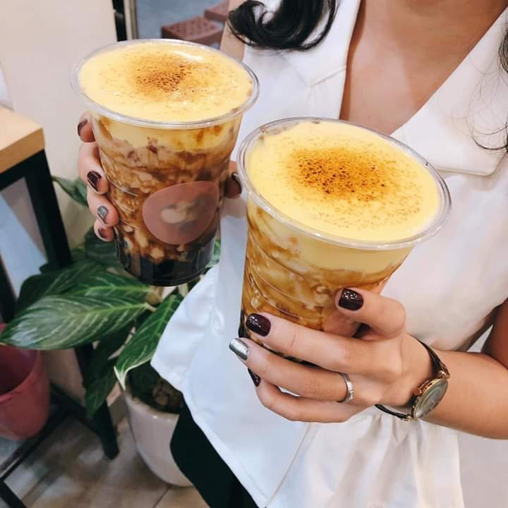 🔥  Review Trà sữa kem trứng  Địa chỉ 286 Nguyễn Văn Lượng, f17, Gò Vấp, Tp hcm đối diện Lotte Gò... - Photos byThu Thảo