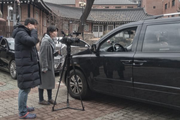 영상제작팀 촬영