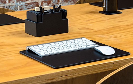 Marvelous The Elegant Office Executive Leather Conference Pads Desk Download Free Architecture Designs Scobabritishbridgeorg