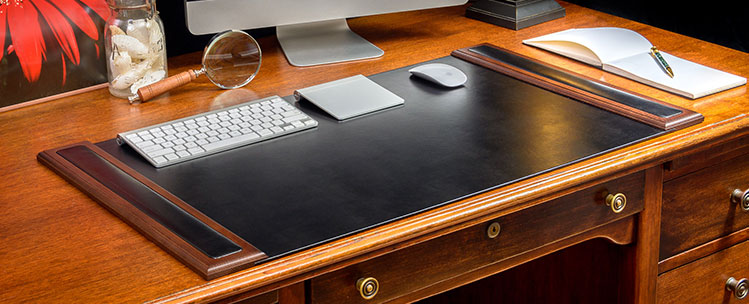 The Elegant Office Executive Leahter Conference Pads Desk Accessories