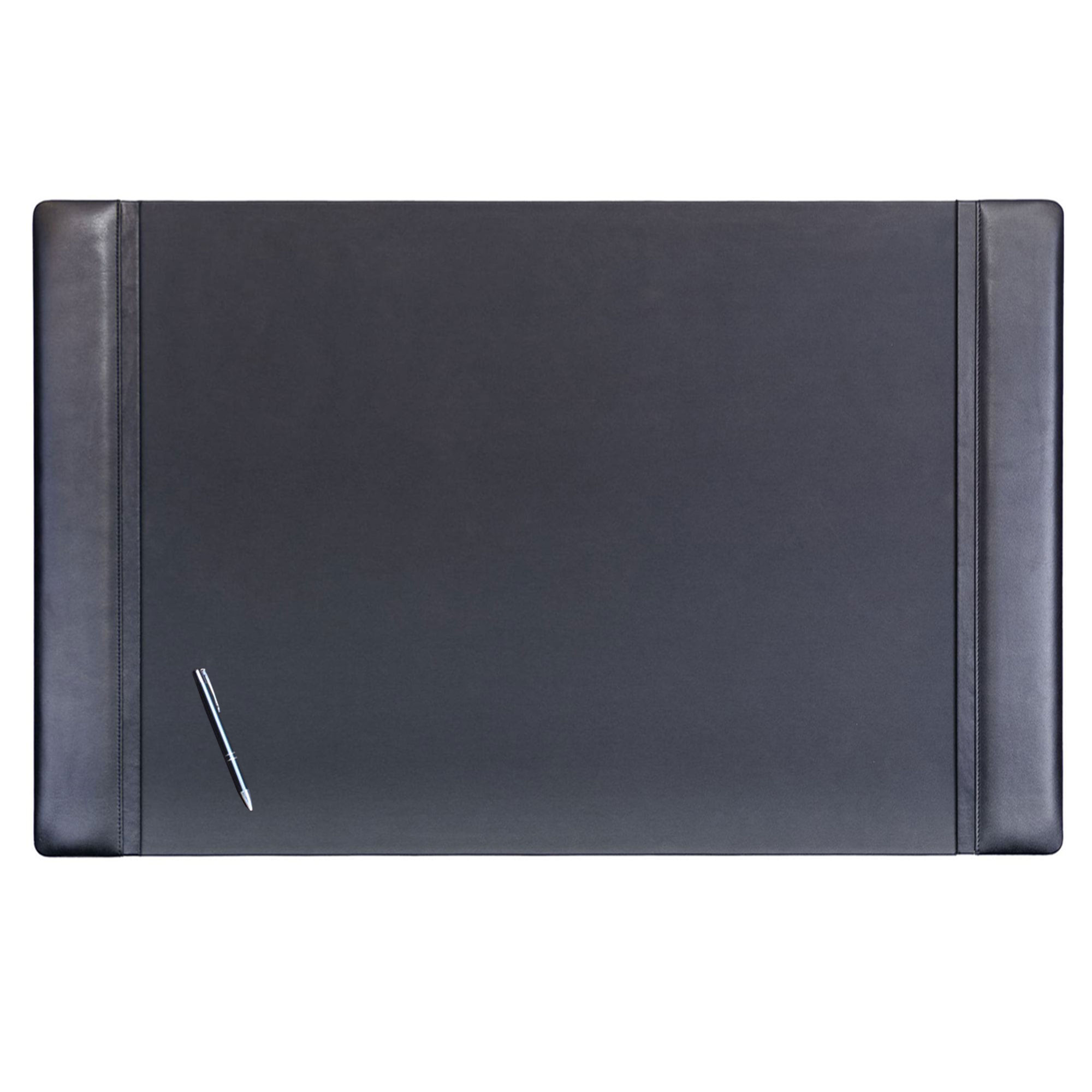 Black Leather Desk Pad 38 X 24