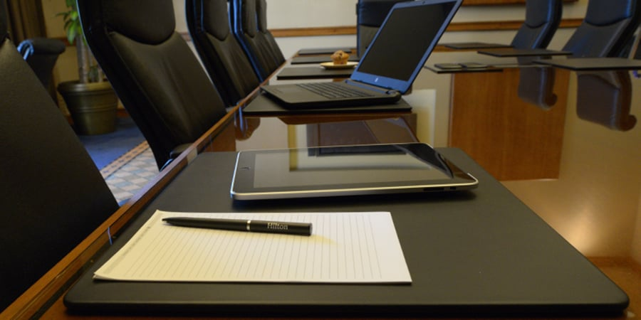 Conference table pads