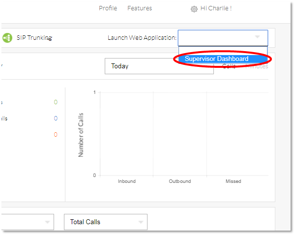 Nextiva How to Access the Supervisor Dashboard