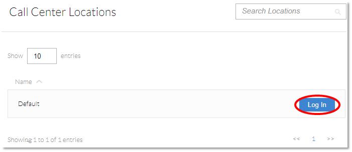 Nextiva Configuration Portal Login