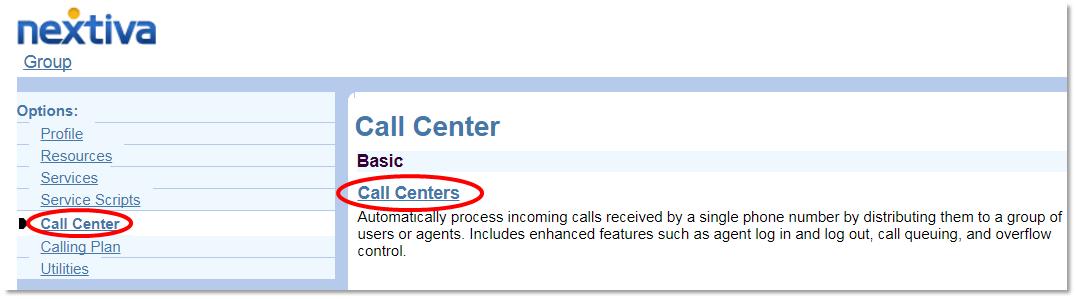 Nextiva Entering Call Centers