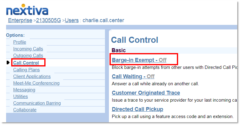 Nextiva Voice - How to Set Up Barge-In Exempt | Nextiva Support