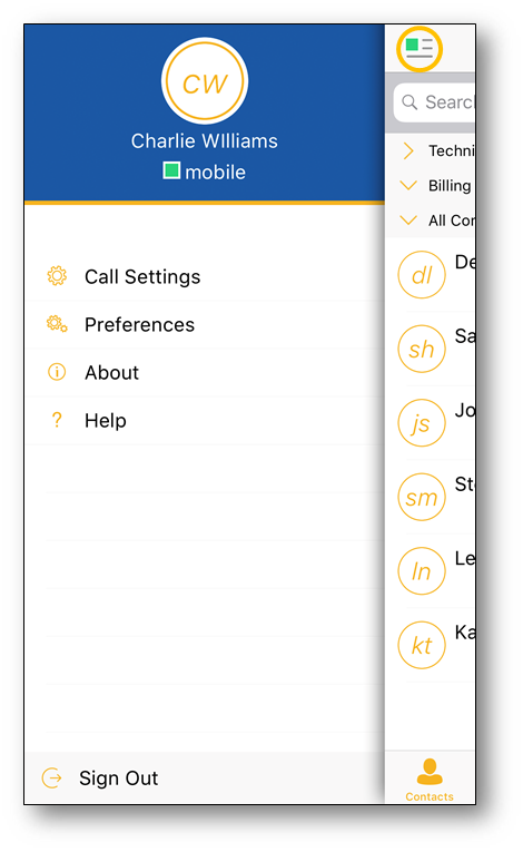 Accessing Call Settings in the Nextiva App | Nextiva Support