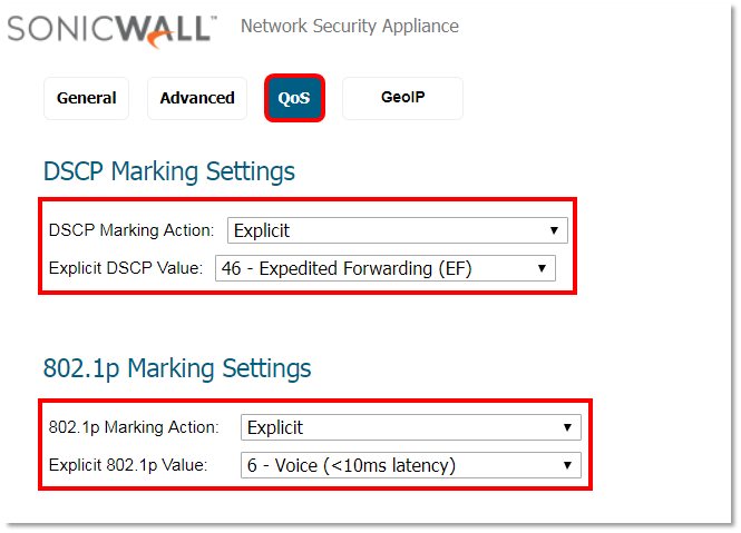 Setting Up a SonicWall with Nextiva | Nextiva Support