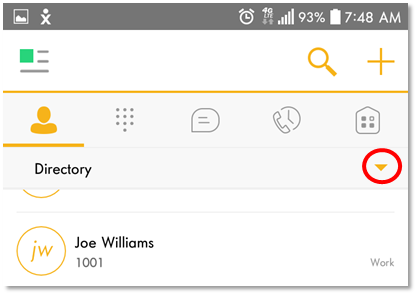 Nextiva App: Managing Contacts for Android | Nextiva Support