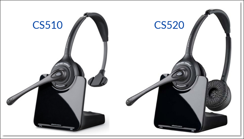 Connecting The Plantronics Cs510 Cs520 Headset To A Desk Phone Nextiva Support