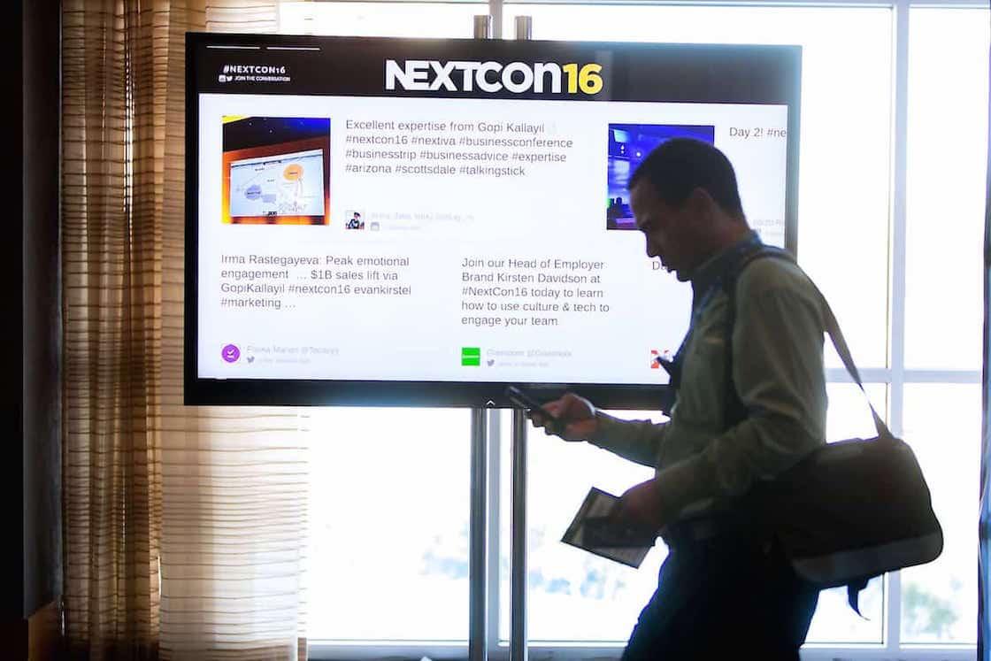 NextCon 2016 Twitter