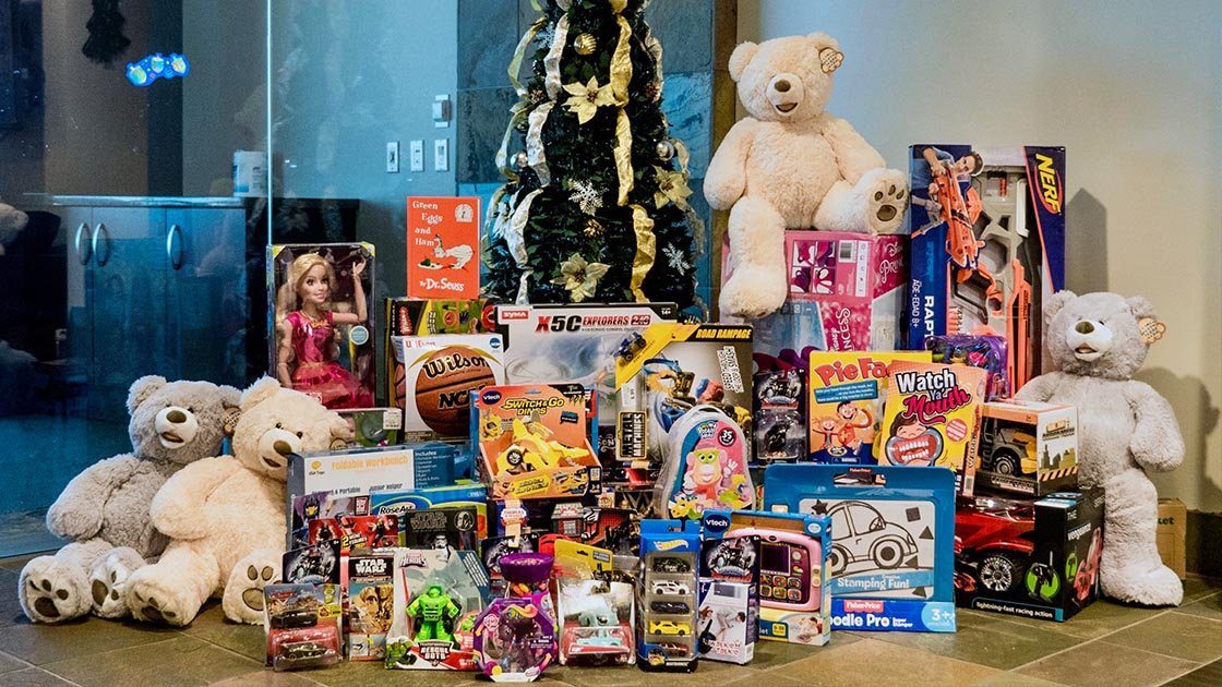 Nextiva Cares - Toys for Tots
