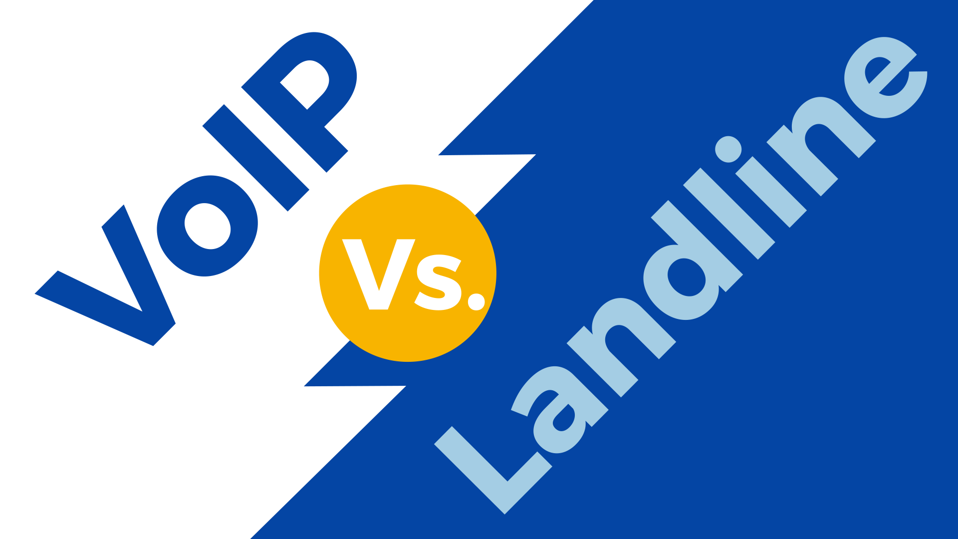 Voip Vs Landline Phone System Comparison Guide 2019 Update Ip Wiring Diagram