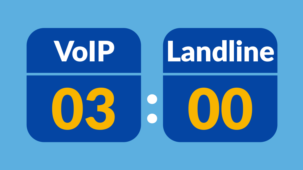 VoIP vs Landline | Phone System Comparison Guide (2019 Update)