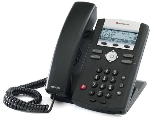 Polycom VoIP phone image