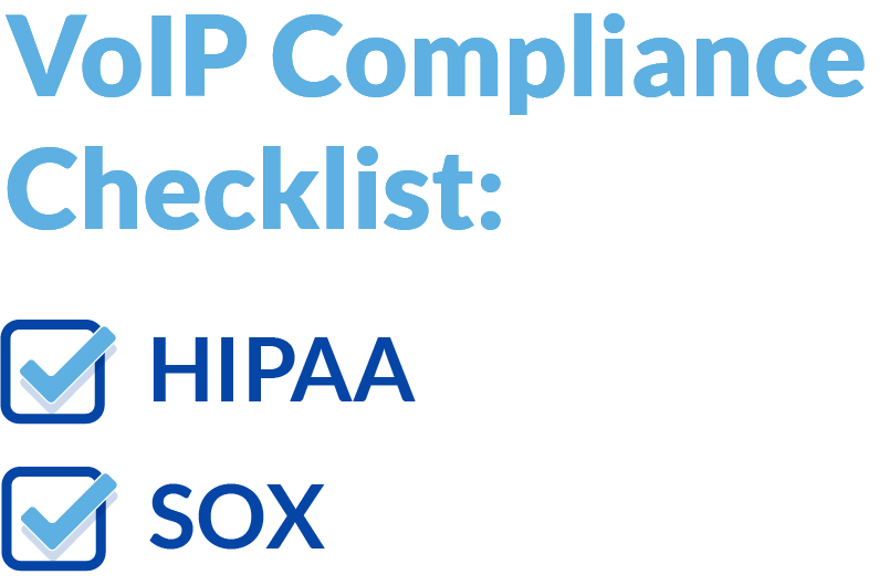 VoIP compliance checklist