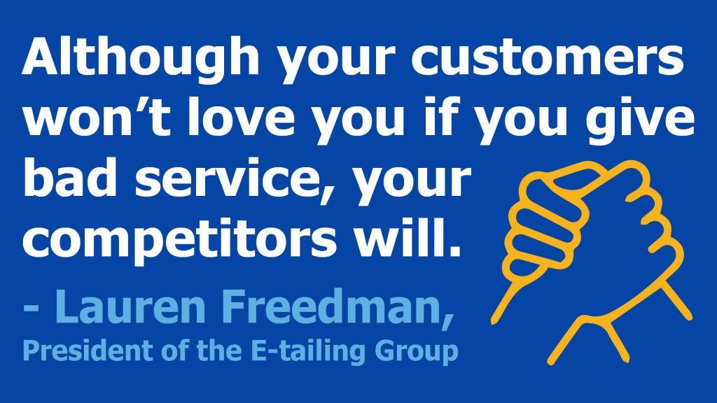 bad customer service quote