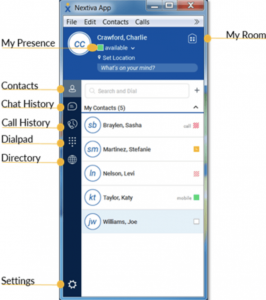 Nextiva App Hosted PBX