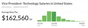 IT VP Career Path: Salary