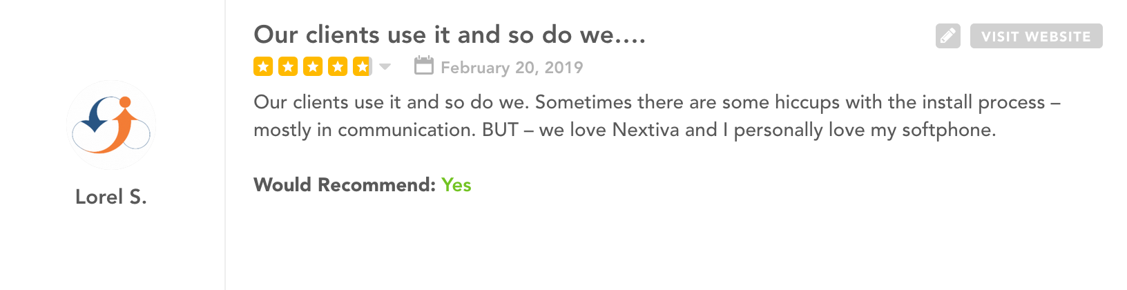 Nextiva Reviews: GetVoIP Review 3