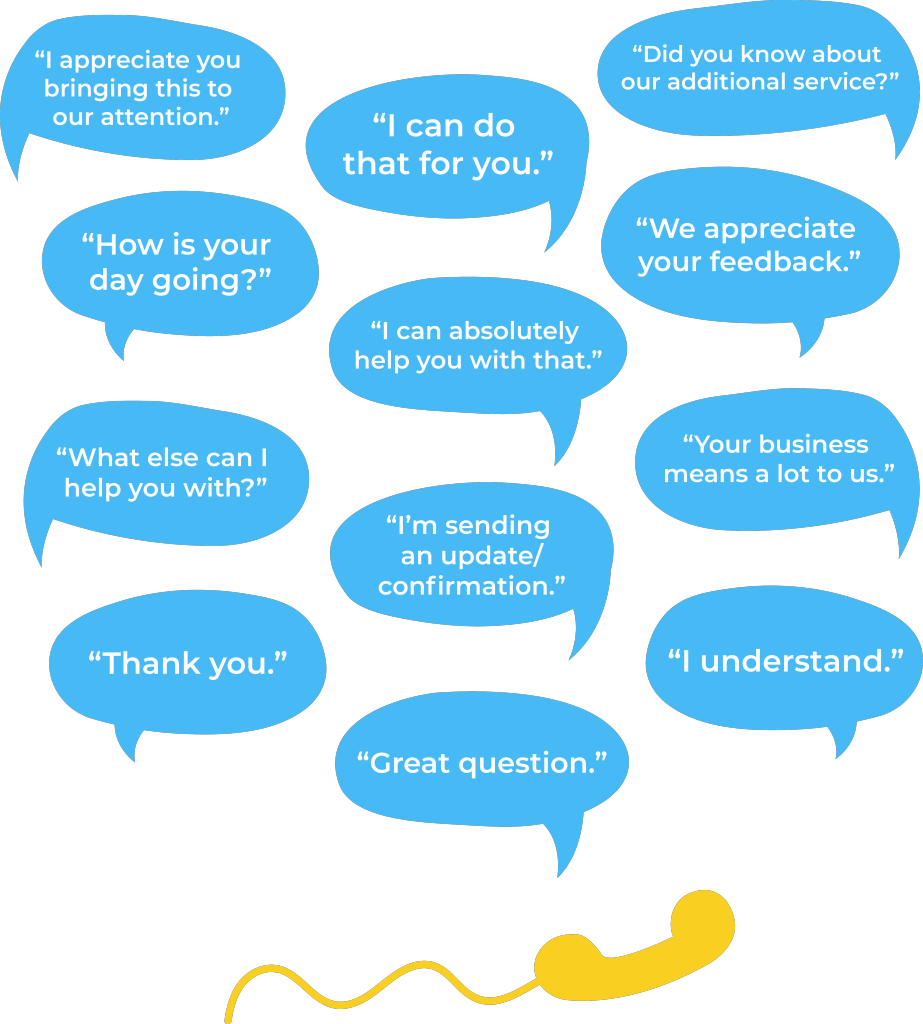 Customer Service Phrase: Best Phrases to Say
