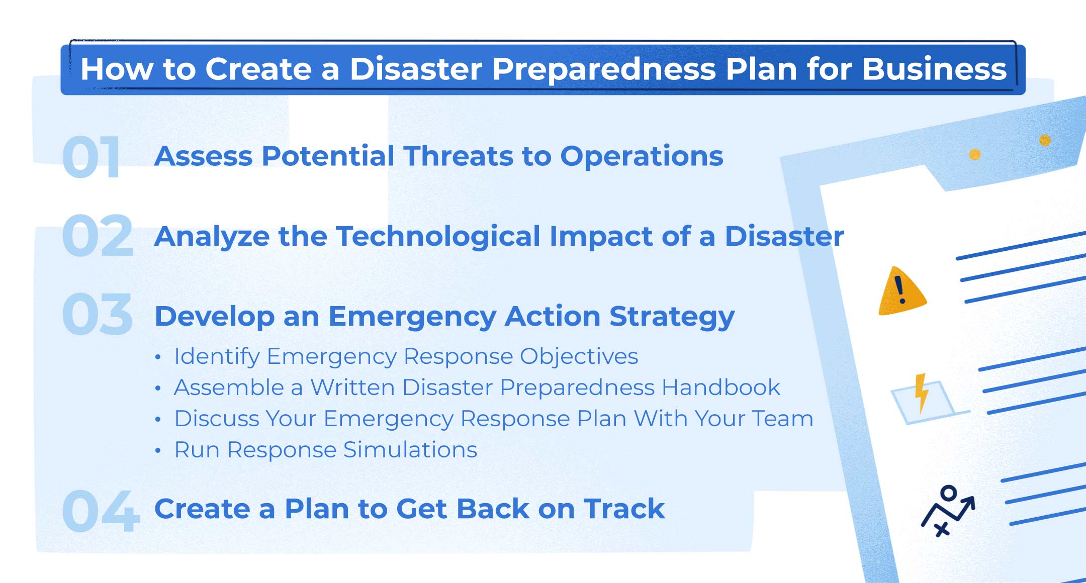 A Disaster Preparedness Plan for Business Checklist
