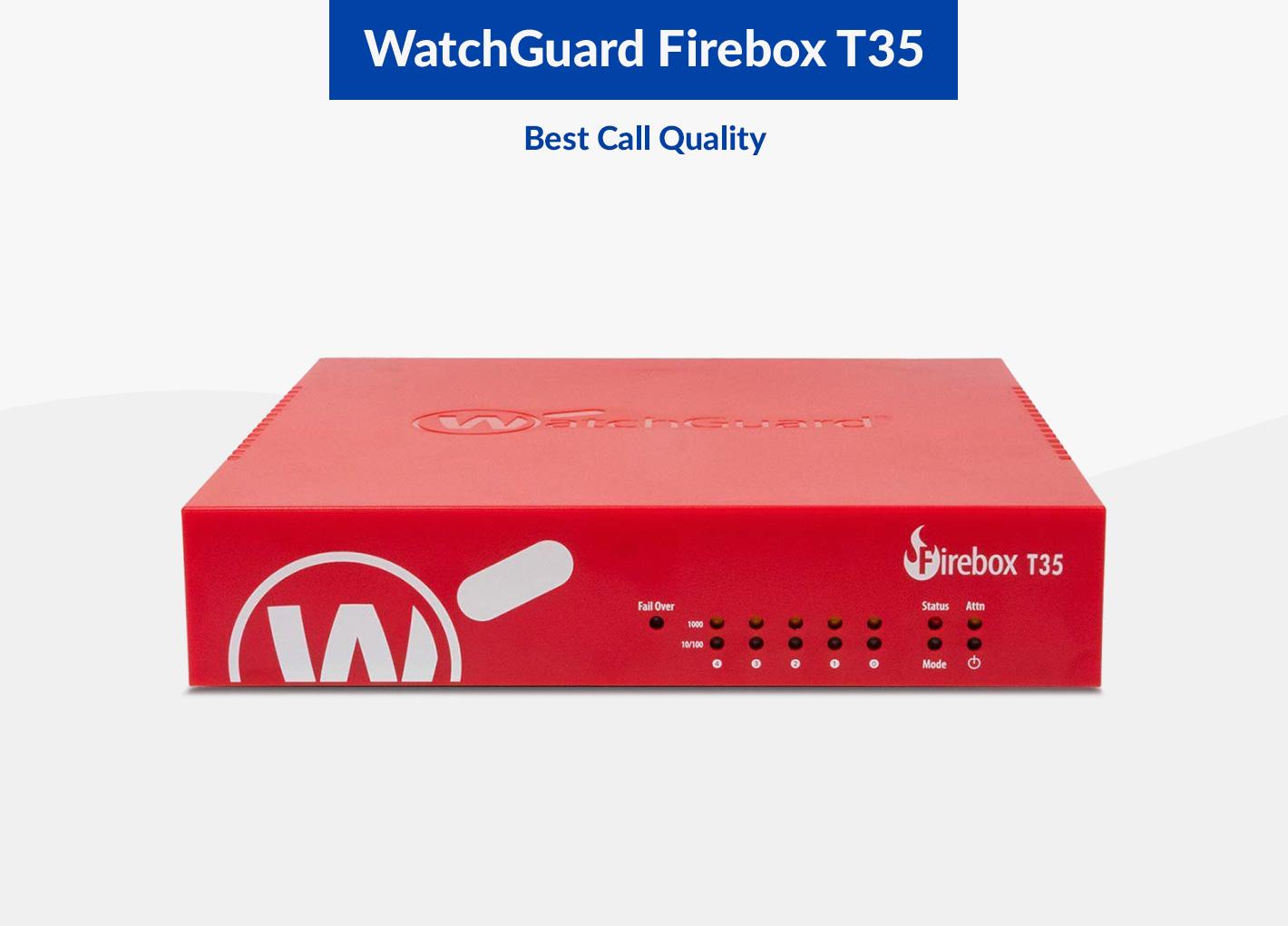 Watchguard Firebox T35