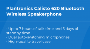 Best VoIP Conference Phone: Plantronics Calisto 620 Features