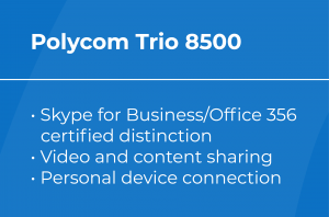 Best VoIP Conference Phone: Polycom Trio 8500 Features