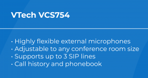 Best VoIP Conference Phone: VTech VCS754 Features