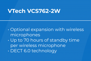 Best VoIP Conference Phone: VTech VCS762-2W Features
