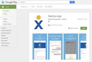 VoIP App: Nextiva App Play Store