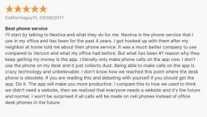 VoIP App: Nextiva iOS app review 1