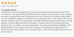 VoIP App: Nextiva iOS app review 2