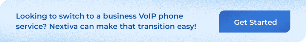 Looking to switch to a business VoIP phone service? Nextiva makes that transition easy!