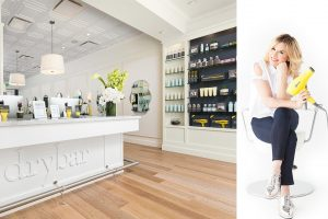 Customer Service Examples: The Drybar store and founder