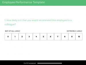 Ways to Improve Work Performance: Employee Survey Template