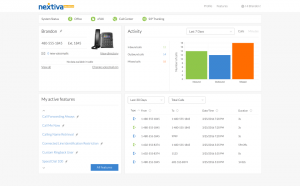 Screenshot of agent performance inside the CRM call center software